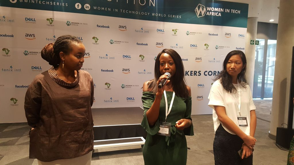 Speakers at Women in Tech Africa Summit