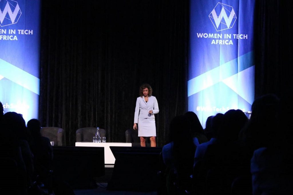 Haidi Noassair at the Women in Tech Africa Summit 2019